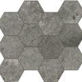debris soot hexagon