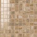 mahogany polished mosaico
